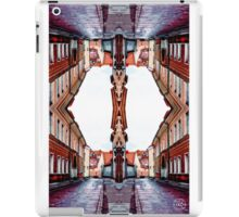 Old Town Street After Rain 4C iPad Case/Skin