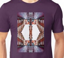 Old Town Street After Rain 4C Unisex T-Shirt