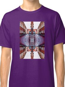 Old Town Street After Rain 4B Classic T-Shirt