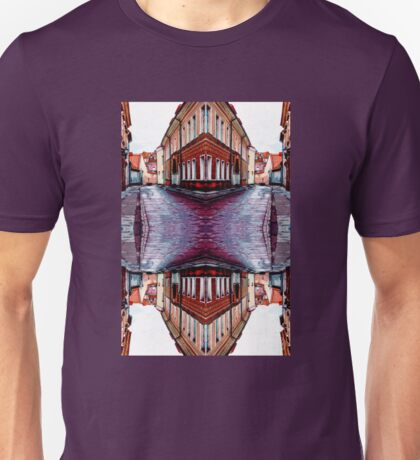 Old Town Street After Rain 4A Unisex T-Shirt