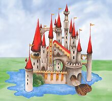The Red Queen's Castle by ImogenSmid