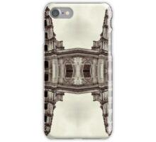 The clones of the church ruins sepia iPhone Case/Skin