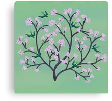 Cherry Blossoms and Birds Canvas Print