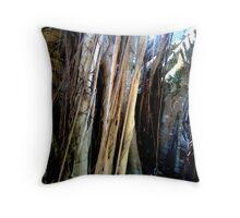 TREE FORM Throw Pillow
