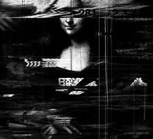 Mona Lisa Glitch by nicebleed