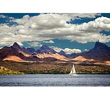 Sailing In Havasu Photographic Print