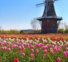 Wooden Windmill in Holland Michigan Sticker