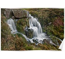 Bronte Waterfall, West Yorkshire Poster