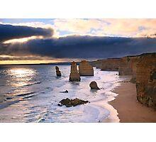 """The Twelve Apostles"" Sunset, Great Ocean Rd, Australia Photographic Print"