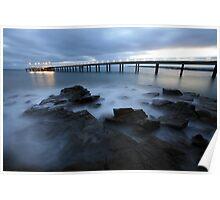 Lorne Pier Pre-Dawn, Great Ocean Road, Australia Poster