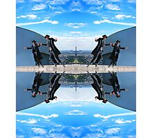 Jews in black can fly Color Photographic Print
