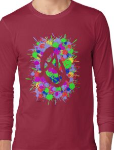 anarchy colourbomb Long Sleeve T-Shirt