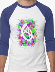 anarchy colourbomb Men's Baseball ¾ T-Shirt
