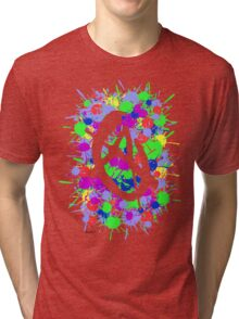 anarchy colourbomb Tri-blend T-Shirt