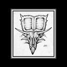 The Great Ceratopsian II by Sean Phelan