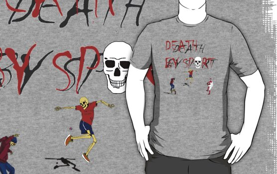 death by sport logo and sport masters by karen sheltrown