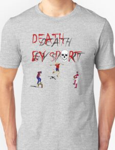death by sport logo and sport masters T-Shirt