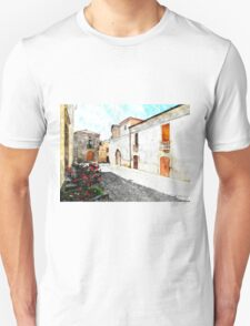 Agropoli: view square and old building Unisex T-Shirt