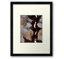 Spice Trail Framed Print