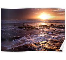 Marie Gabrielle Anchor, Shipwreck Coast, Australia Poster