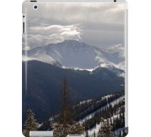 Clouds Over The Mountains iPad Case/Skin