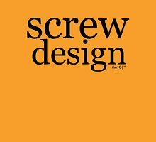 screw design Unisex T-Shirt