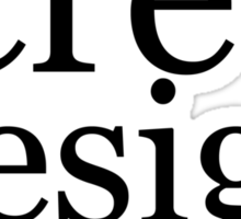 screw design Sticker