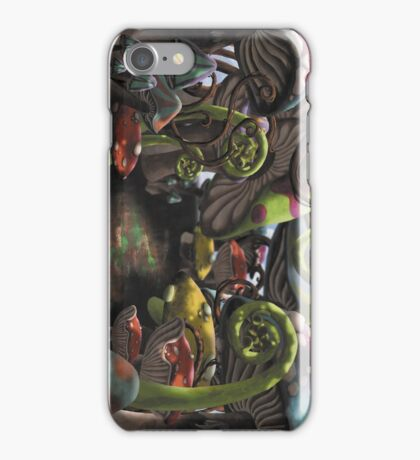 Wonderland Toadstool and Fern Forest iPhone Case/Skin