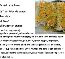Baked Lake Trout by MaeBelle