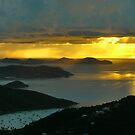 Stormy Sunrise, St. John by Stephen Vecchiotti