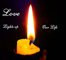 Love lights up Our Life by MaeBelle