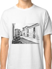 Agropoli: view square and old building Classic T-Shirt