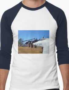 Helos and Fighter Planes Men's Baseball ¾ T-Shirt