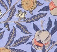 Vintage Tropical Floral Pattern Sticker
