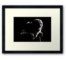 Cozy Window Light Framed Print
