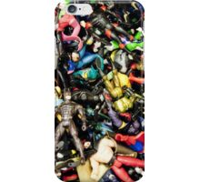 Action Figures iPhone Case/Skin