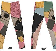 Sally Stitches Original Leggings by Cat Vickers-Claesens