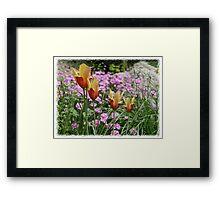 Spring Miniatures Framed Print