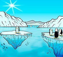 Penguins by westarborstudio