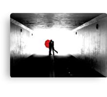 Red Umbrella 1 Canvas Print