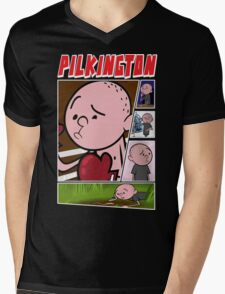 Karl Pilkington - Fan Montage Mens V-Neck T-Shirt