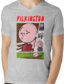 Karl Pilkington - Fan Montage Mens V-Neck T-Shirt