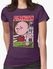 Karl Pilkington - Fan Montage Womens Fitted T-Shirt