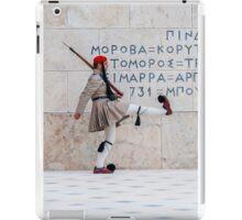 Presidential Guard Evzones iPad Case/Skin