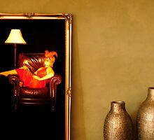 through the mirror by Chris  Moncrieff