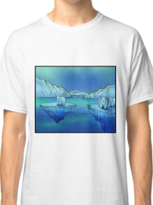 Polar Bears and the Northern Lights Classic T-Shirt