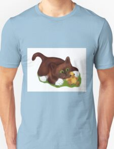 Kitten and Duckling  are Best Friends  T-Shirt