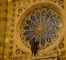 Rose Window of Duomo di Monza by sstarlightss