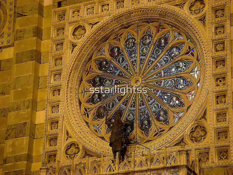 Rose Window of Duomo di Monza by sstarlightss
