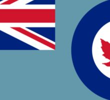 Royal Canadian Air Force - Ensign (historical) Sticker